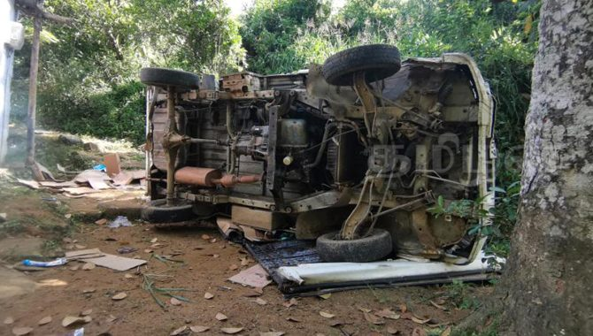 hatton bogawanthalawa road lorry accident today
