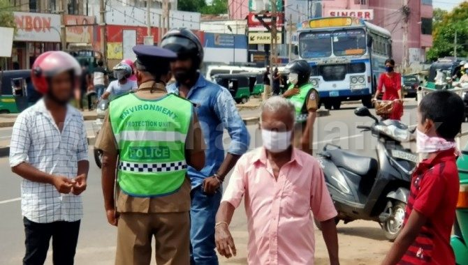 323 arrested violating isolation law